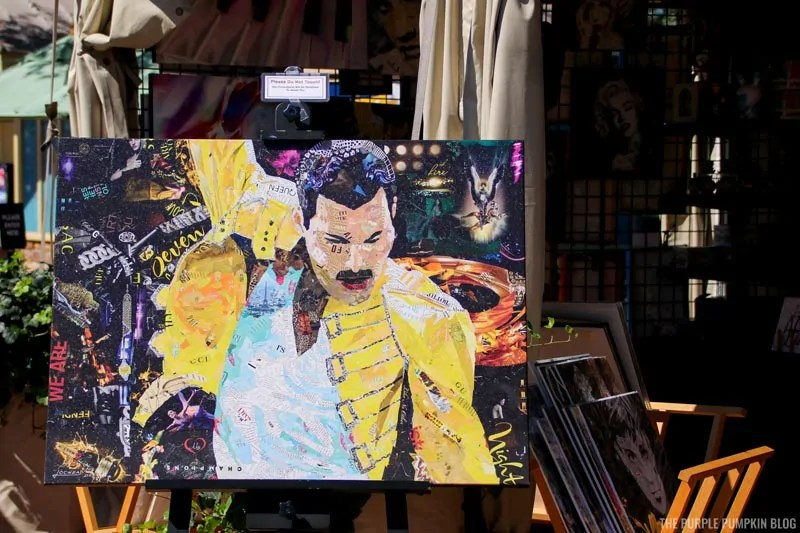Freddie Mercury Artwork
