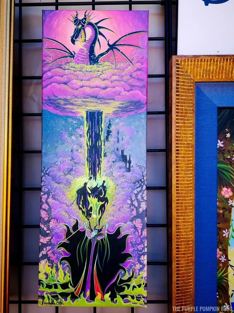 Maleficent Painting