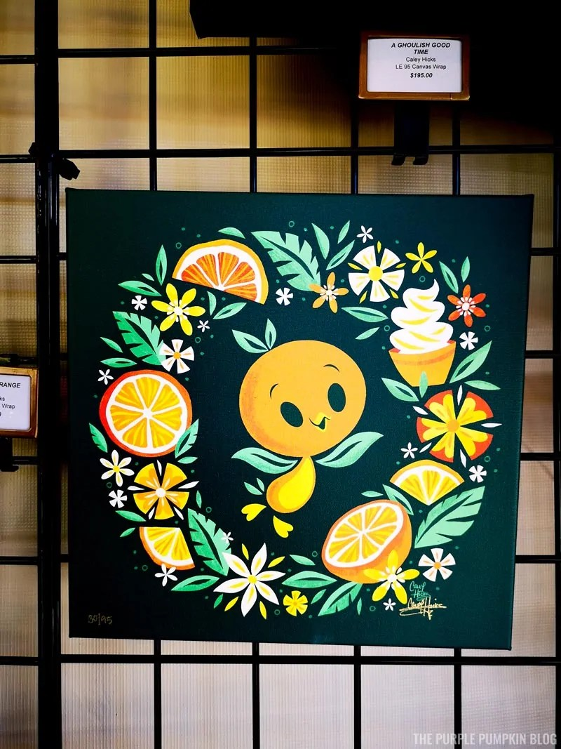 Orange Bird Artwork