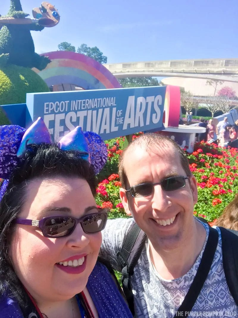 Us at Festival of the Arts