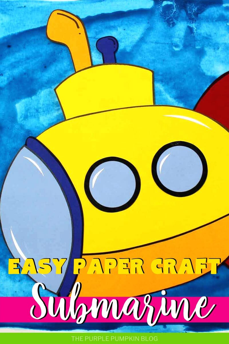 Easy Paper Craft Submarine