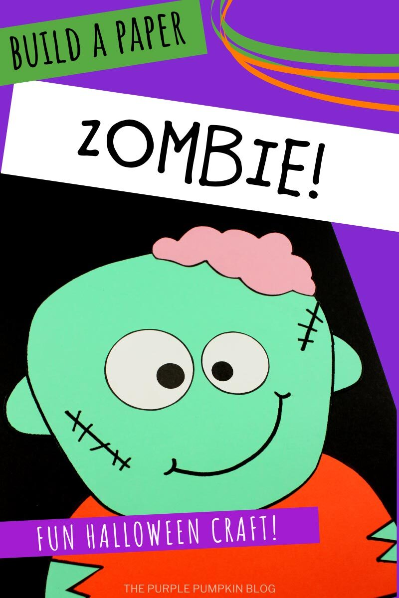 Build a Paper Zombie - A Fun Halloween Craft!