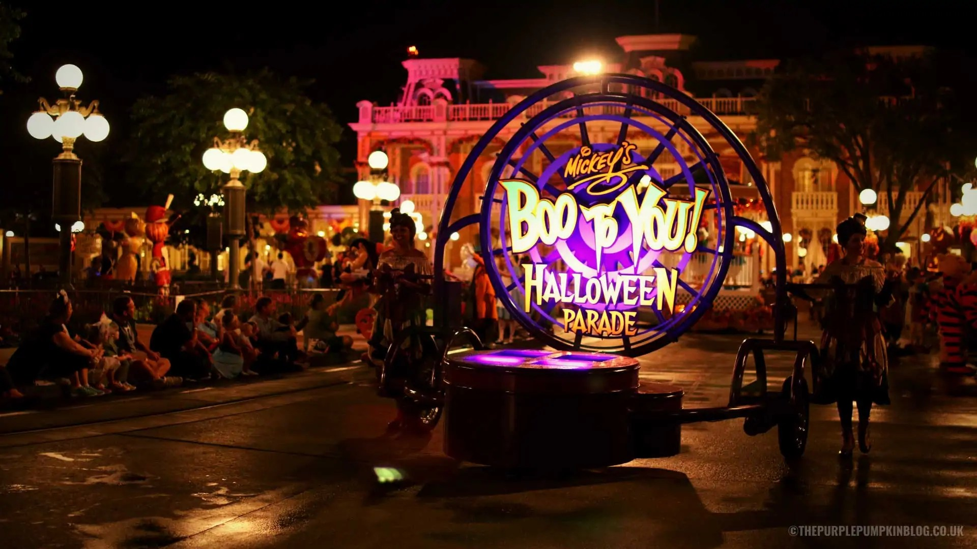 Boo To You Parade Desktop Background
