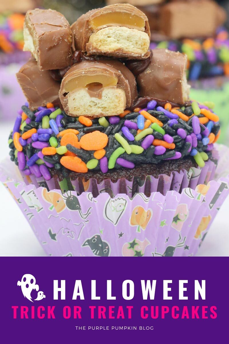 Halloween Trick or Treat Cupcakes Recipe