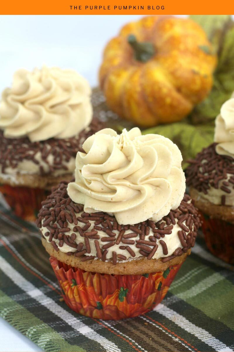Baileys Pumpkin Spice Cupcakes for Fall