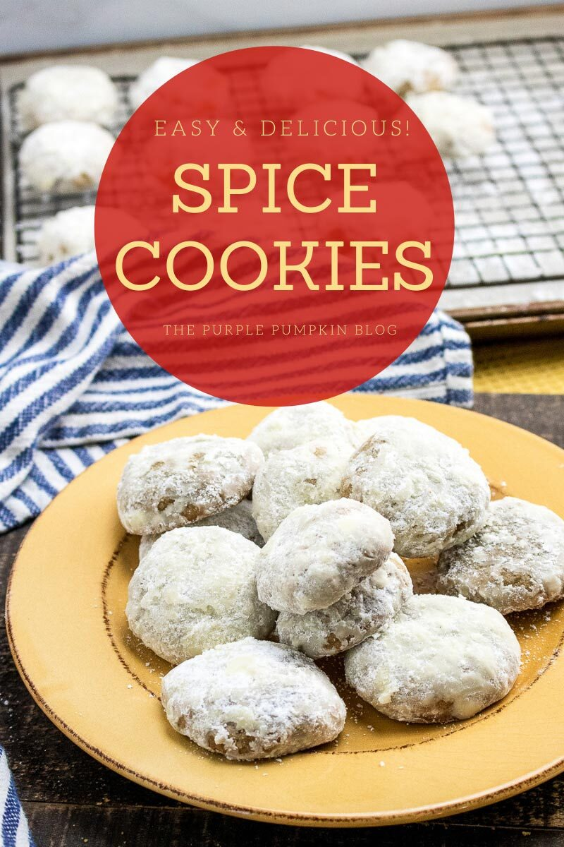 Easy & Delicious Spice Cookies