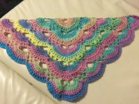 Free Pattern For Crochet Virus Shawl ~ Dancox for
