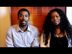 Evon and I recording our 1st YouTube Video!