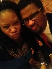 Duck-Facing it at the G98.7FM Christmas Party