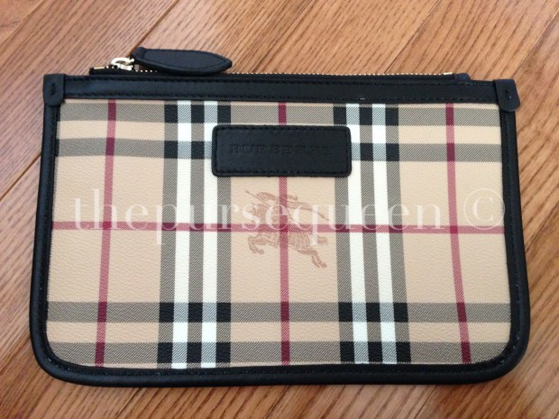 burberry pouch came with handbag