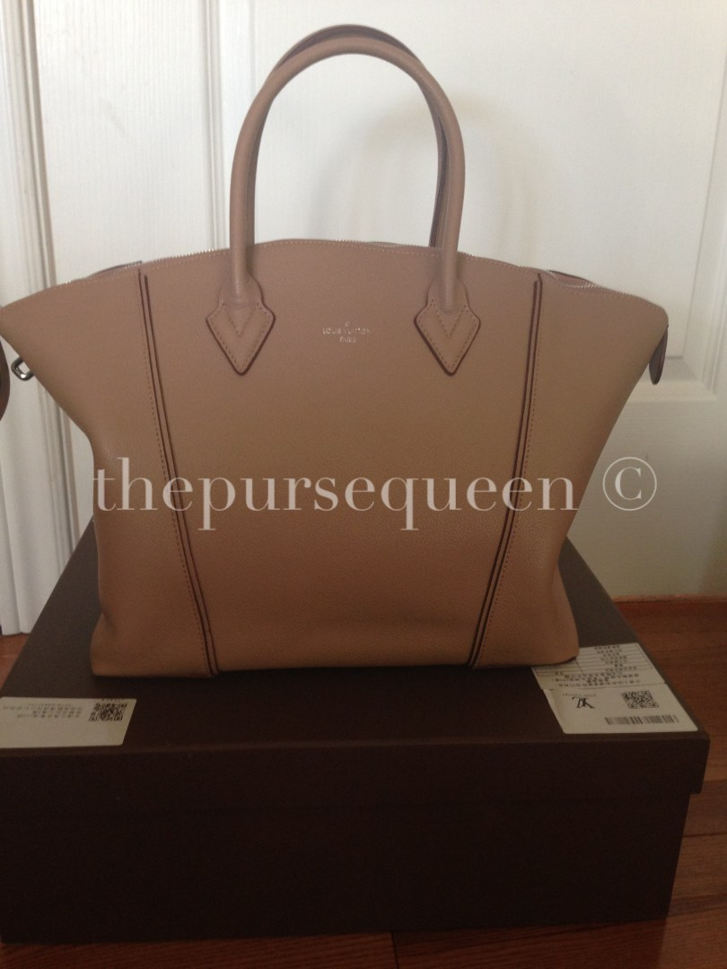 Louis Vuitton Soft Lockit Replica Bag Unboxing #replicabags