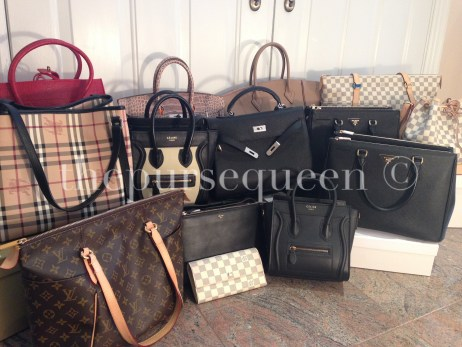 the purse queen replica bag collection