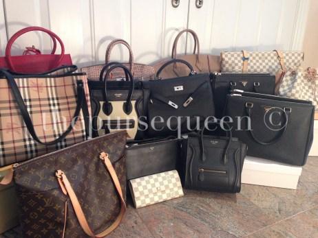 the purse queen replica bag collection