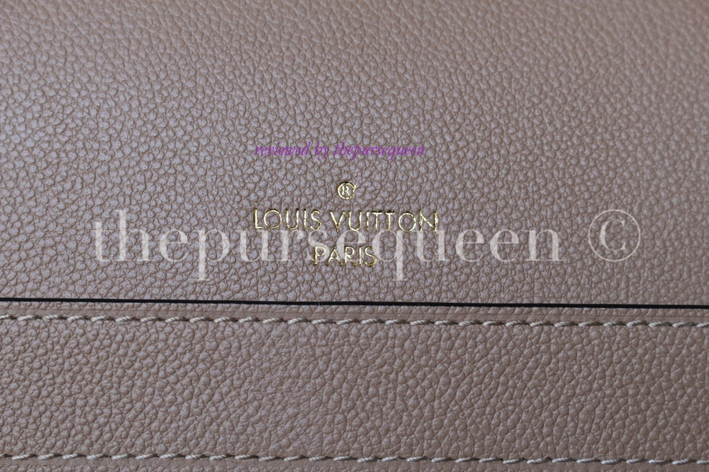 louis vuitton empreinte Trocadero replica authentic review logo bag stamping