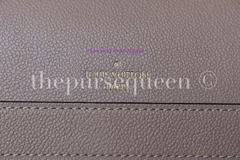 louis vuitton empreinte Trocadero replica authentic review logo bag stamping