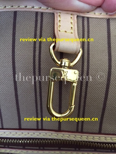 LOUIS VUITTON NEW NEVERFULL AUTHENTIC REPLICA HARDWARE