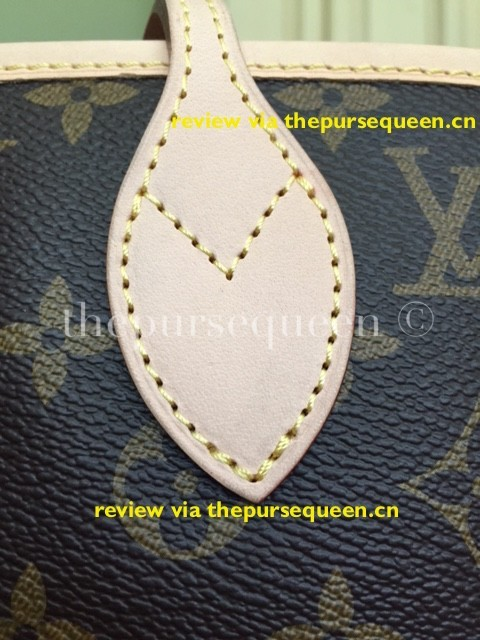 LOUIS VUITTON NEW NEVERFULL AUTHENTIC REPLICA STITCHING
