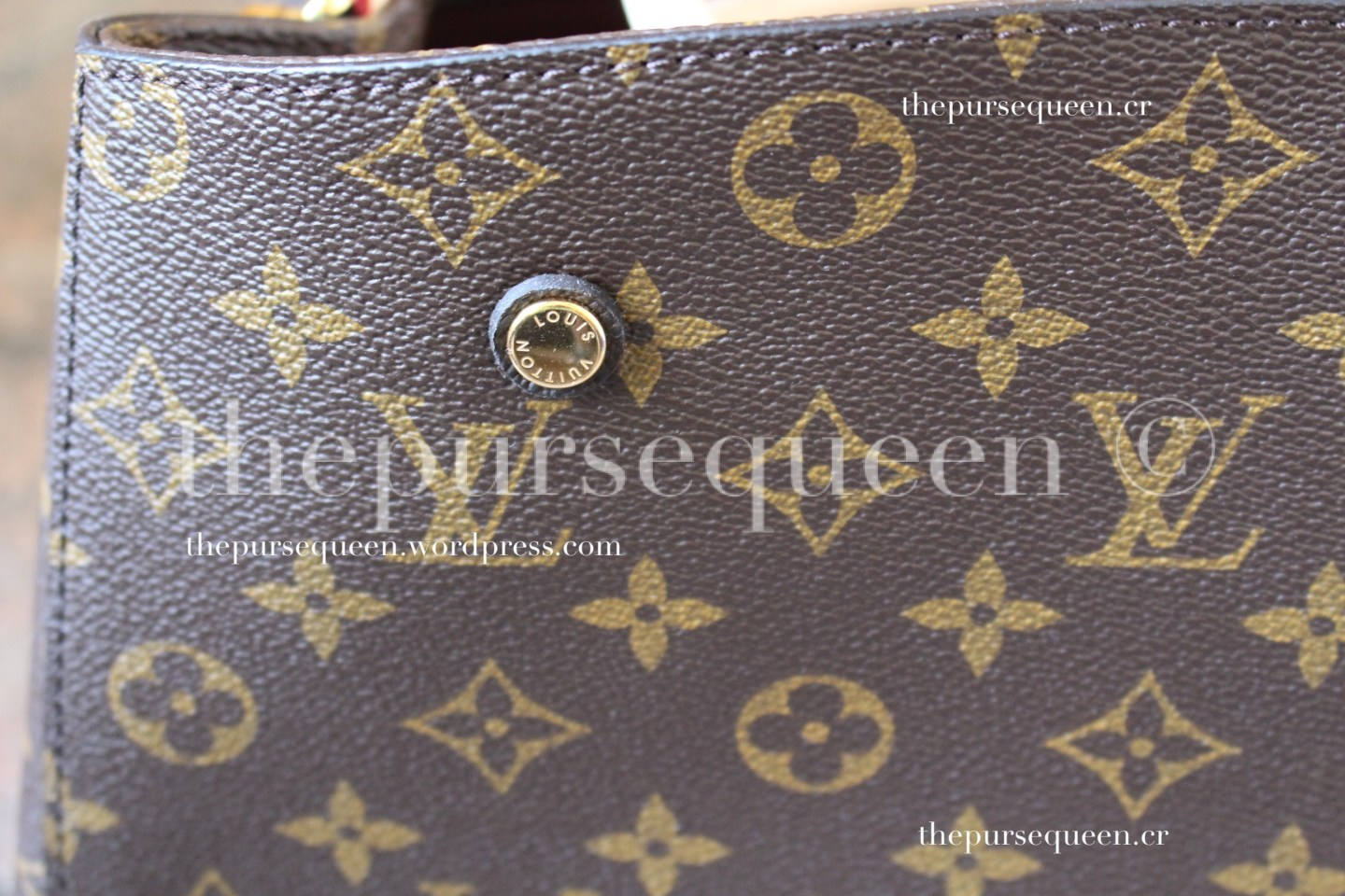 louis vuitton montaigne replica #replicabag #replicabags closeup