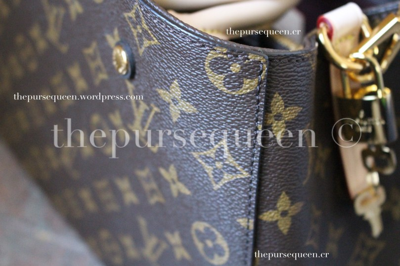 louis vuitton montaigne replica #replicabag #replicabags stitching