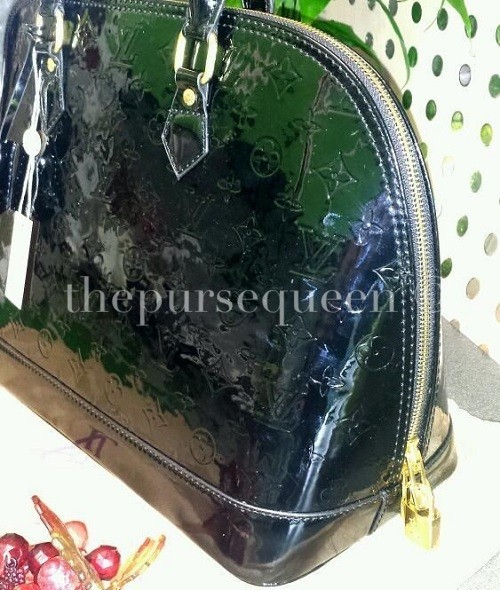 Replica Louis Vuitton Alma Vernis Side View Bagsheaven.cn