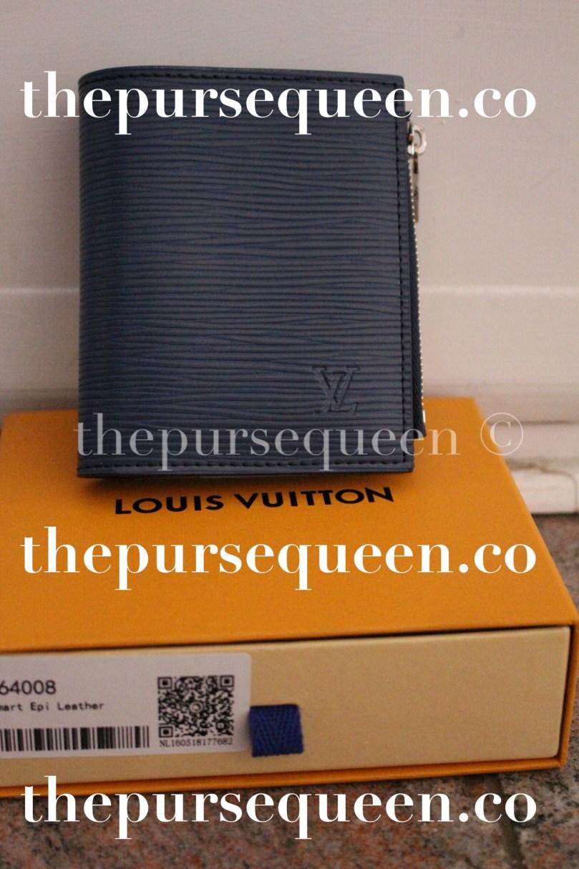 Louis Vuitton Smart Epi Leather Replica Wallet Front View