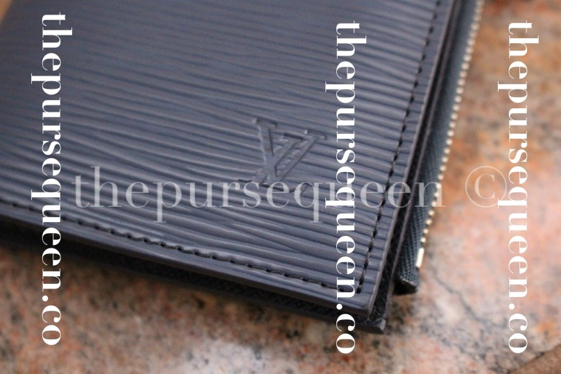 Louis Vuitton Smart Epi Leather Replica Wallet Stitching