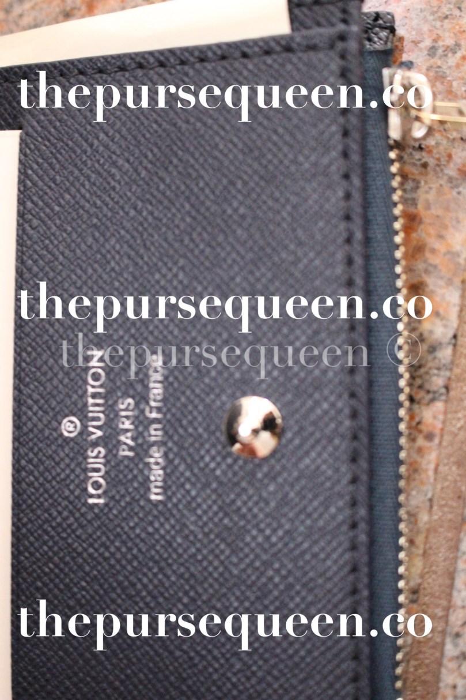 Louis Vuitton Smart Epi Leather Replica Wallet Closeup