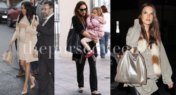 stella mccartney celebrities wearing bag