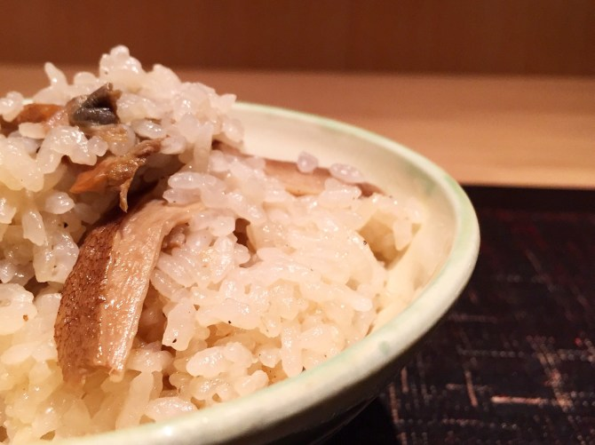 Jimbocho Den Mushroom Rice