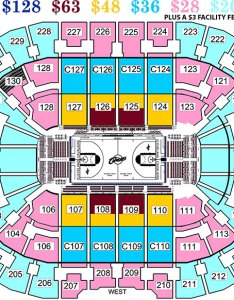 Erie insurance arena seating chart together with also formerly tullio end stage rh box officespot