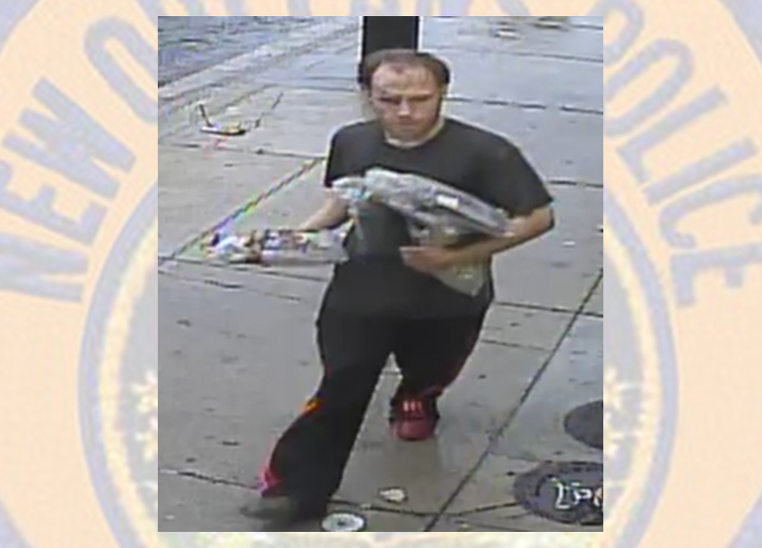 New Orleans Police ask public to help ID suspect in Esplanade hotel burglary