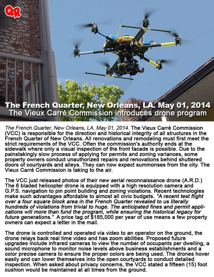 VCC drones