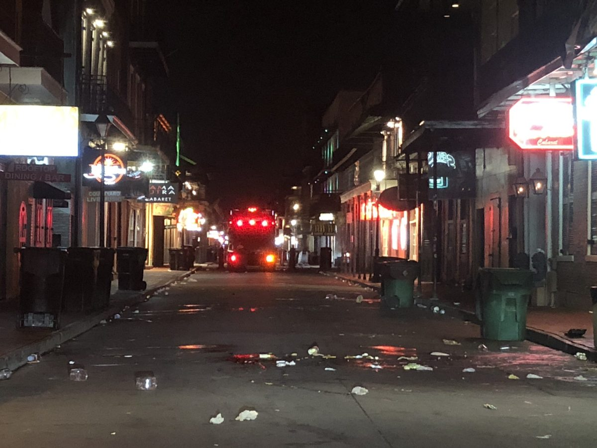 Bourbon Street after COVID-19 quarantine