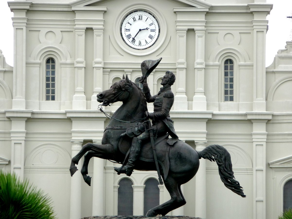 Take Em Down NOLA demands New Orleans remove Andrew Jackson statue