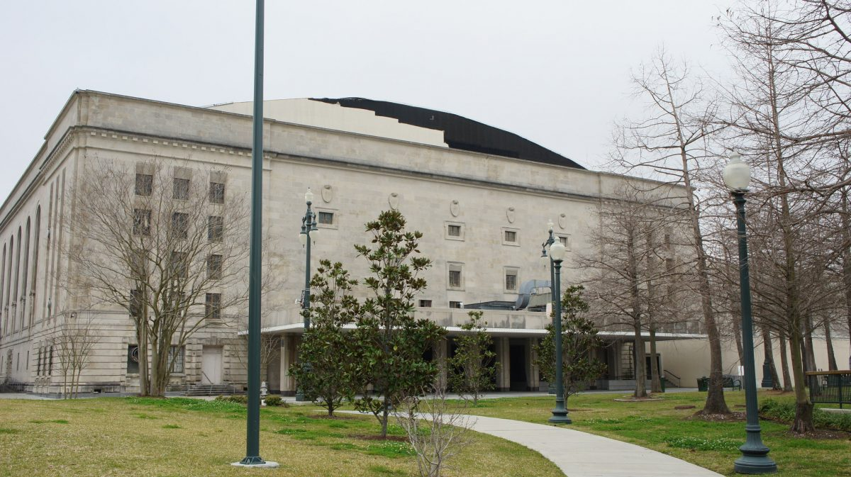 New Orleans council temporarily bans City Hall from using Municipal Auditorium