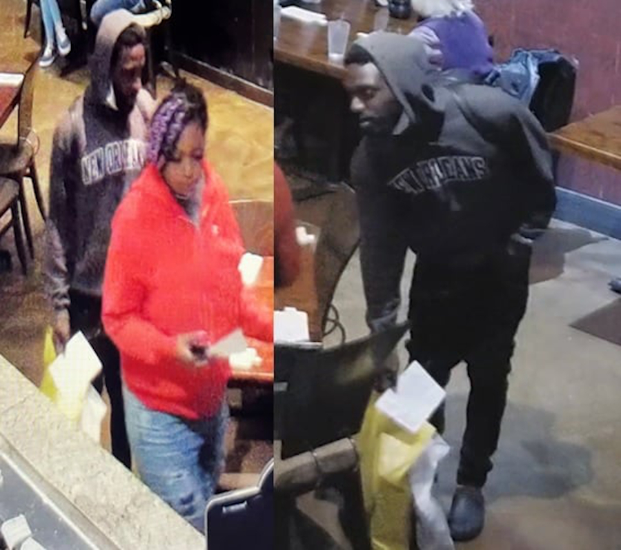 Pair sought in connection to punching, knocking out employee in dine-and-dash incident at CBD restaurant