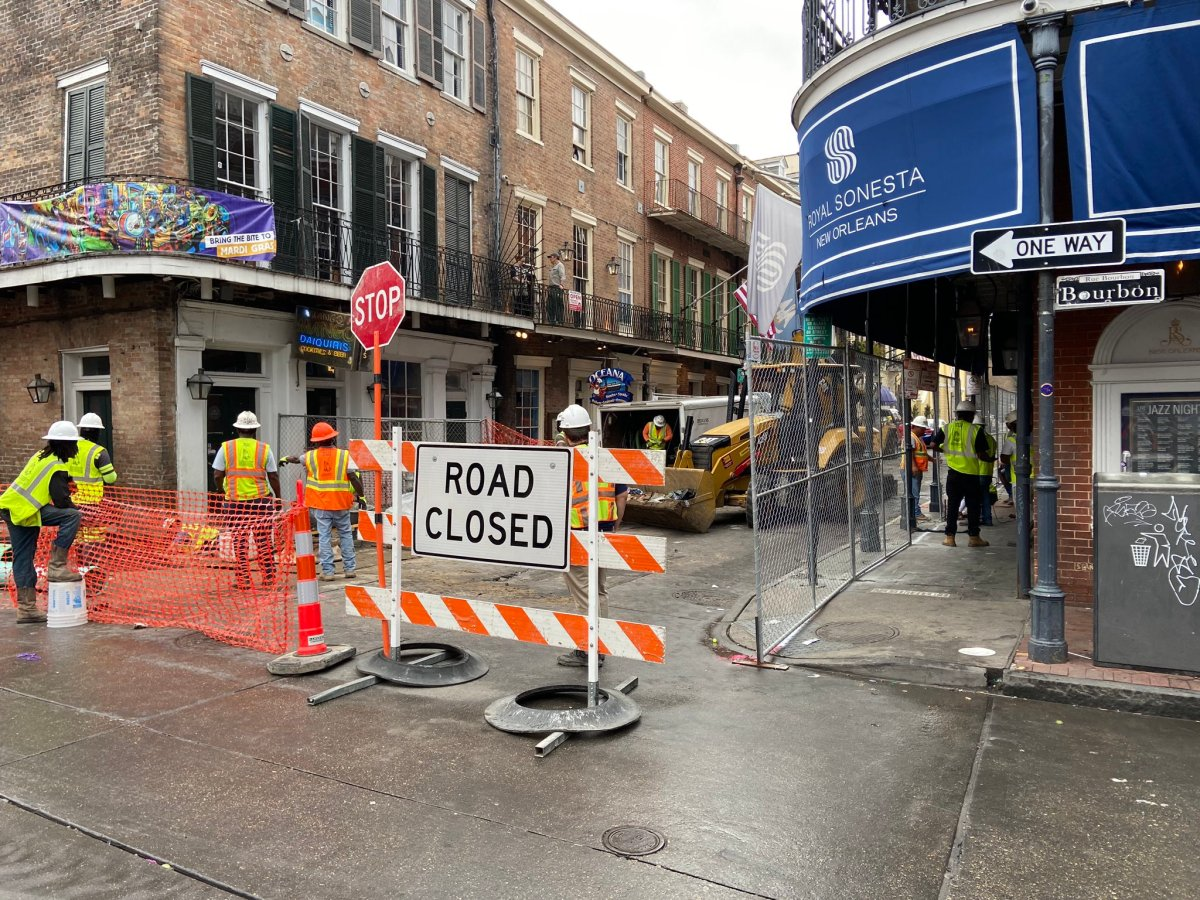 $4.3M infrastructure reconstruction project begins along 2-block section of Conti Street