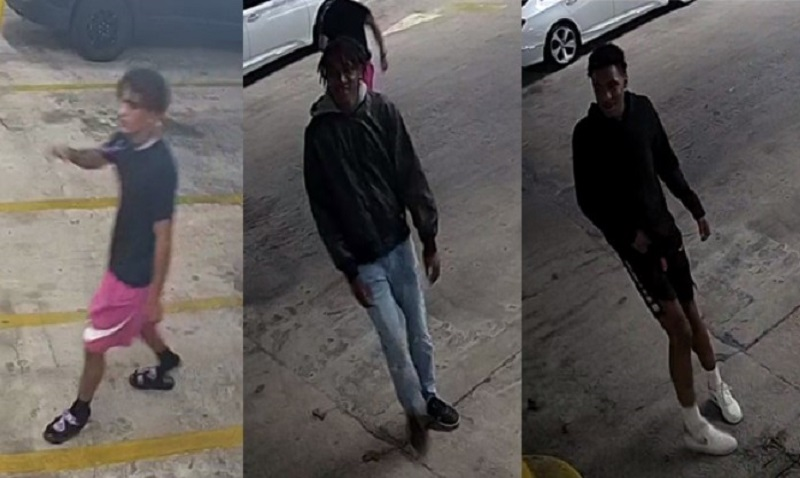 3 people sought in connection to Roosevelt Way vehicle break-in