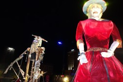 'Canterbury Tales' humungous puppet procession