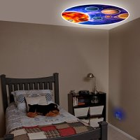 Projectables Solar System LED Plug-In Night Light - The ...