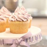Lavender & Vanilla Bean Cupcakes