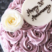 Lavender Rose Cake