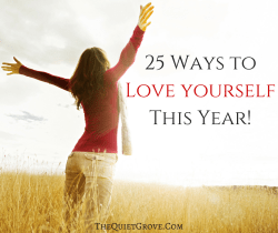 25 Ways to Love yourself This Year!