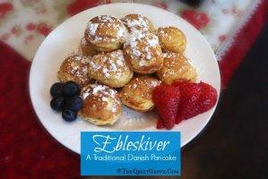 Ebleskiver: A Traditional Danish Pancake