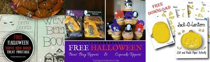 Free Halloween Treat Tags Printable