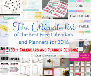 The Ultimate list of the Best Free Calendars and Planners for 2016 (1)