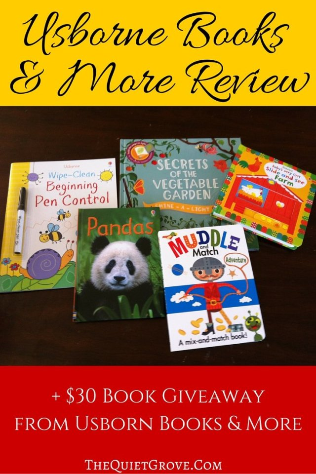 Have you heard about Usborne Books & More? Kids love them and so do their parents! I use them for homeschooling as well as to inspire my children to read. Check out my Usborne Books & More review and while you are at it enter to win $30 in Books for your family!