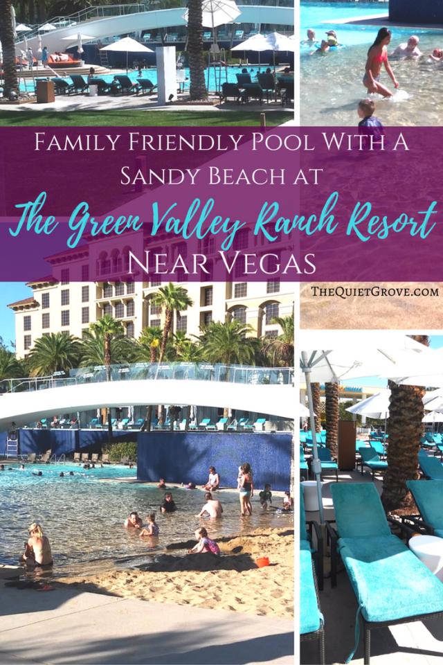 Family Friendly Pool with a Sandy Beach