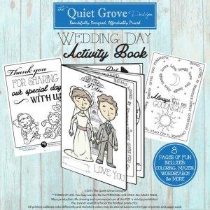 Kids Wedding Activity Booklet