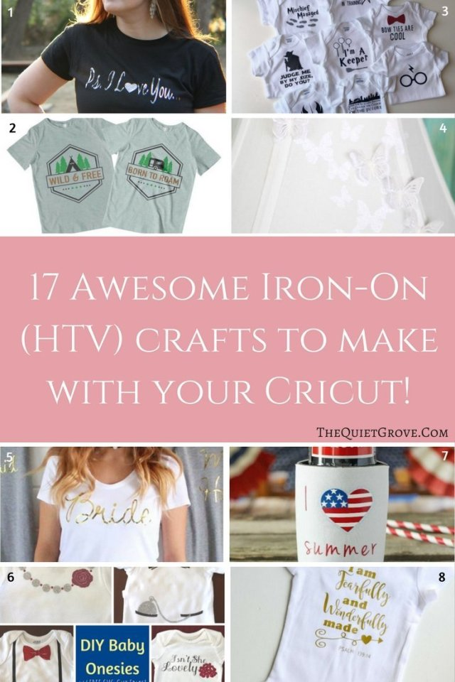 79 Diy Cricut Projects Using 12 Different Crafting Materials The